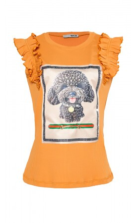 T-shirt Poodle lov.it atacado