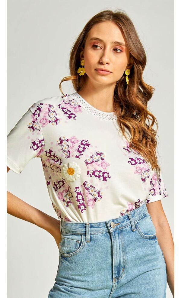 T-Shirt Margaridas Nômade lov.it atacado