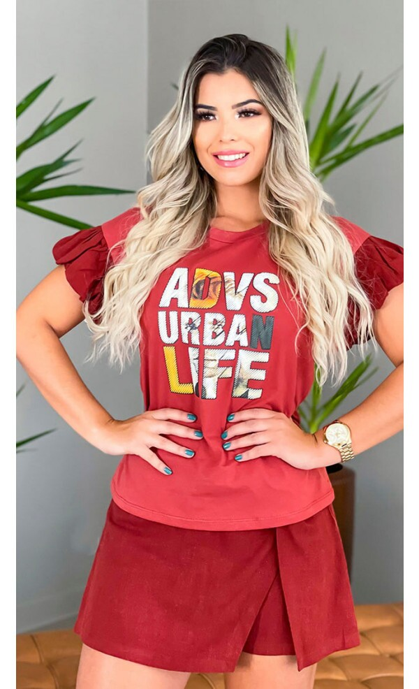 T-shirt Urban Lov.it atacado